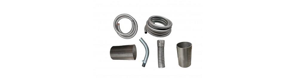 Gaine flexible acier et inox