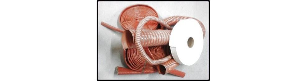 Gaine thermique et aspiration haute T° et bande fibre de verre