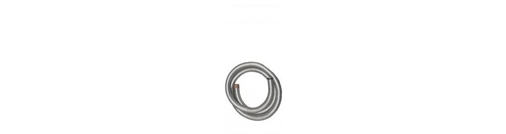 Gaine flexible acier double agrafage