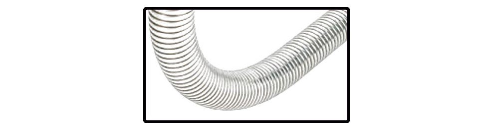 Gaine flexible inox 304 double agrafage
