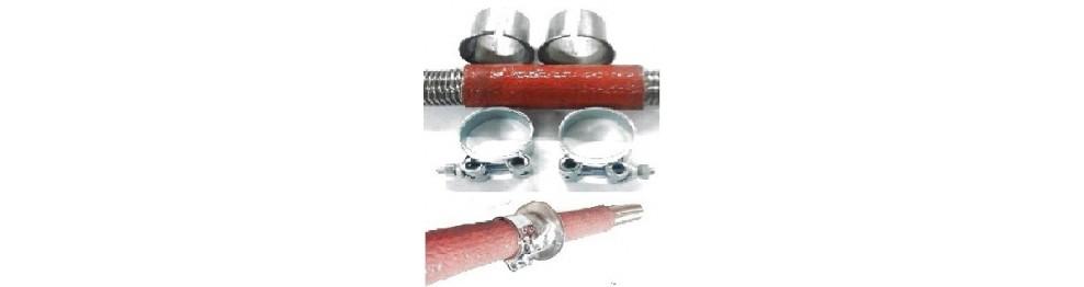 Passe-cloison pour tubes 20 à 76 avec isolation thermique