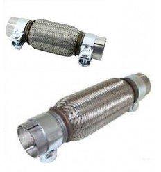 Flexible inox à colliers par diamètre de tube